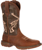 Durango Rebel Crossed Revolvers (Men's)