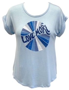 Style&Co. Style & Co Love More Graphic T-Shirt, Created for Macy's