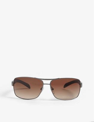 Prada Linea Rossa PS54I rectangle-frame sunglasses