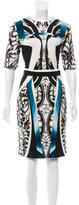 Peter Pilotto Digital Print Sheath Dress w/ Tags
