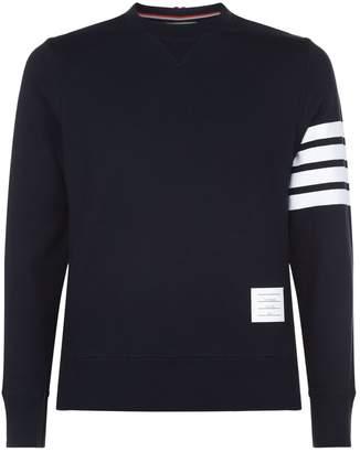 Thom Browne Engineered 4-Bar Stripe Sweatshirt