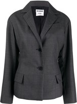 Jil Sander Pre Owned 2000s single-breasted blazer
