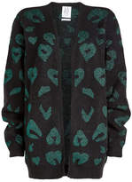 Zoe Karssen Printed Cardigan with Wool and Mohair