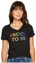 Converse Proud To Be V-Neck Tee Women's T Shirt