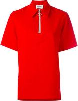 Harmony Paris - Thelma zipped polo shirt - women - Cotton/Viscose - 36