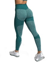 Yaavii Seamless Yoga Pants for Women High Waist Stretch Gym Workout Running Leggings
