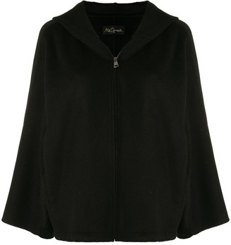 Mes Demoiselles Zipped Hooded Jacket