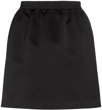 Heron Preston Drawstring Logo Patch Mini Skirt