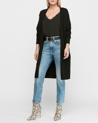 Express Long Pocket Cardigan