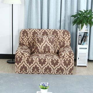 Overstock Stretch Fabric Home 1/2/3 Seats Cover Sofa Cover Loveseat Slipcovers