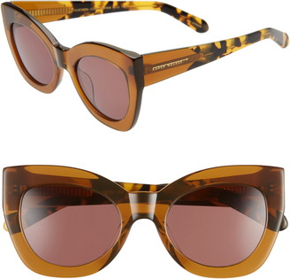 Karen Walker Northern Lights 51mm Cat Eye Sunglasses