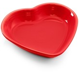 Fiesta Scarlet Medium Heart Bowl