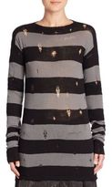 Marc Jacobs Deconstructed Wool & Cashmere Sweater