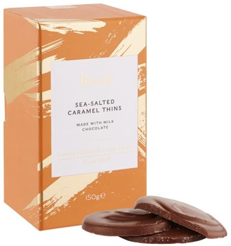 Harrods Sea-Salted Caramel Thins (150g)