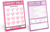 Knock Knock 'Love About You Today' Notepad & Sweet Talk Nifty Notes