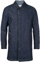 MACKINTOSH classic coat - men - Cotton - 36