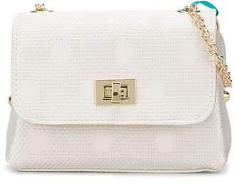 Lula Abel & polka dot print shoulder bag