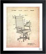 Oliver Gal Office Chair, 1991 (Framed)