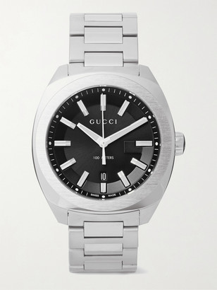 Gucci Gg2570 41mm Stainless Steel Watch