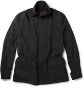Loro Piana Traveller Cashmere-Lined Storm System® Shell Jacket