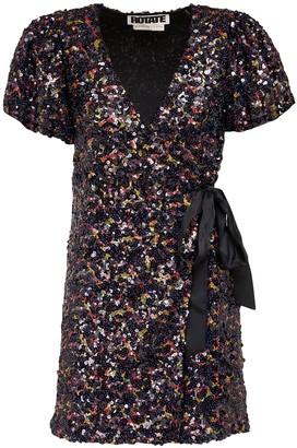 Rotate by Birger Christensen Frida Sequins Mini Dress