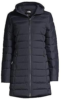The North Face Women's Slim-Fit Stretch Nylon-Blend Down Puffer Parka