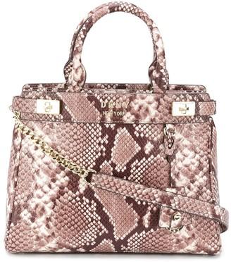 DKNY Finch leather medium satchel