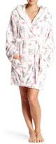 PJ Salvage Gift Kisses Faux Fur Trim Robe