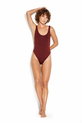 Seafolly Women's Active Retro Tank Maillot One Piece Swimsuit