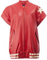 Faith Connexion shortsleeved leather jacket