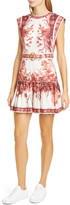 Zimmermann Wavelength Floral Linen Minidress