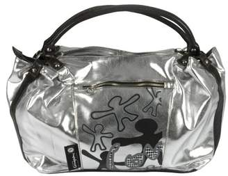 Little Company ci02.00 Nappy Bag, Shopping Bag, Colour: Silver with Black Text