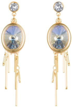 Nadia Minkoff Oval Cluster Earring Gold