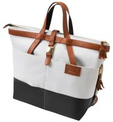 Quinny Infant X Rachel Zoe 'Jet Set' Canvas Diaper Bag - White