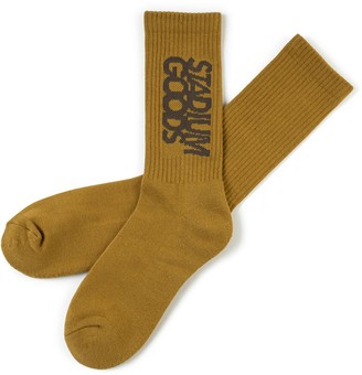 Embroidered Logo Socks