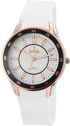 Sportline Line Sport Analog Quartz Ladies Wristwatch Rubber 220822000001