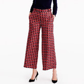 J.Crew Collection pleated wide-leg pant in Ratti® geometric tile print