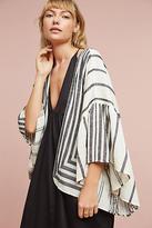 Anthropologie Aggie Ruffle Kimono