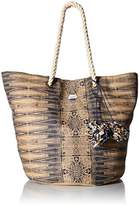 Roxy Sun Seeker Tote Straw Beach Bag