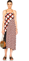 Suno Pleated Underplay Maxi Dress