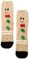 PJ Salvage Gingerbread Themed Socks