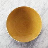 Crate & Barrel Jars Tourron Amber Dinner Plate