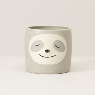 Indigo Sloth Pot