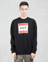 HUF Poster Box Logo Sweatshirt