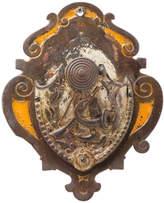 Rejuvenation Cast Iron Trophy Wall Pocket