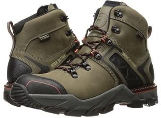 Irish Setter Crosby 6 Waterproof (Grey/Black) Men's Work Boots