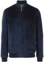 Etro fur bomber jacket - men - Lama Fur/Wool/Viscose - M