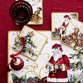 Williams-Sonoma Williams Sonoma 'Twas the Night Before Christmas Coasters, Set of 4