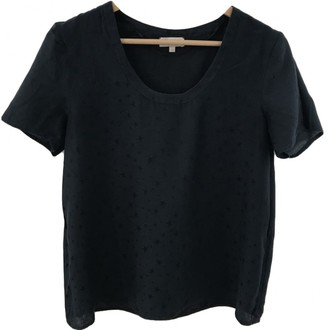 Pablo Navy Cotton Top for Women