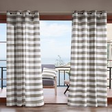 Madison Home USA Cabana Stripe 3M Scotchgard Outdoor Window Curtain